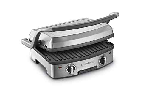 [Calphalon 5-in-1 Removable Plate Grill] (1 Griddle Plate)