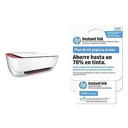 HP DeskJet 3635 - Impresora multifunción + tarjeta 50 páginas ...