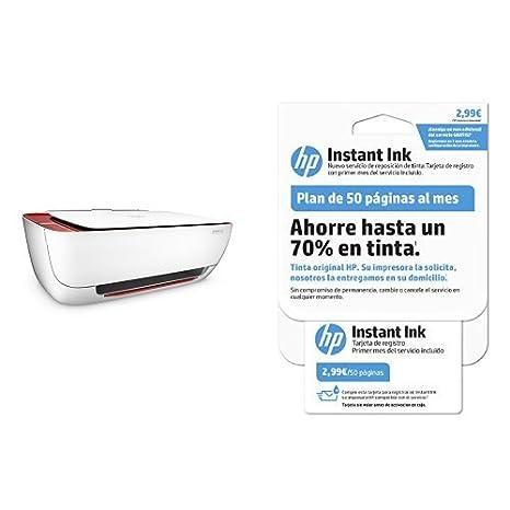 HP DeskJet 3639 Impresora multifunción (tinta instantánea, impresora, escáner, copiadora, WLAN, Airprint)