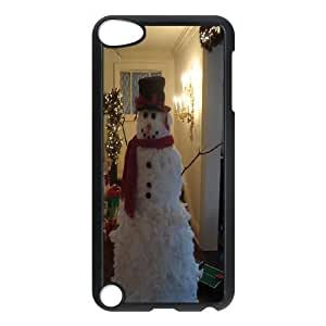 DIY A Happy Hand Made Snowman Ipod Touch 5 Case, A Happy Hand Made Snowman Custom Case for iPod Touch5 at Lzzcase