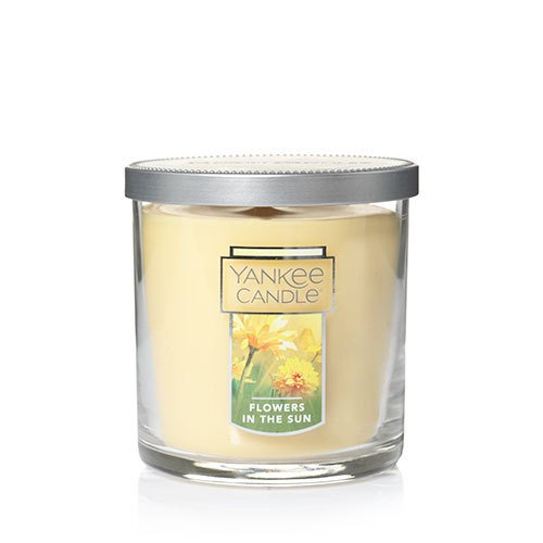 Yankee Candle Flowers in The Sun Small Tumbler Candle, Floral Scent Yankee Candle Company