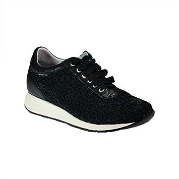 Femme Frau Sneakers 43 NoiresAmazon Chaussures K2 Dentelle Venise wN0vm8n