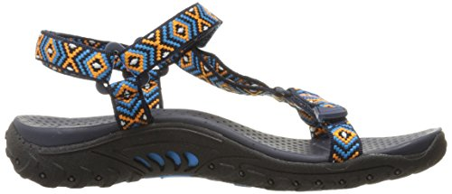 Misty Reggae Sandal Blue Navy Morning Skechers Women's Or qg6WaRwOxw