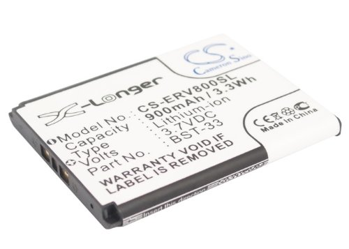 New BST-33 Battery For SONY ERICSSON C702,C901 Greenheart...