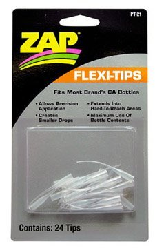 - Pacer Technology (Zap)) Flexy-Tips 24 Adhesives