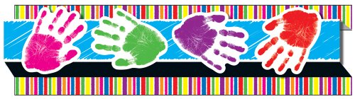 Carson Dellosa Handprints Borders (108049)