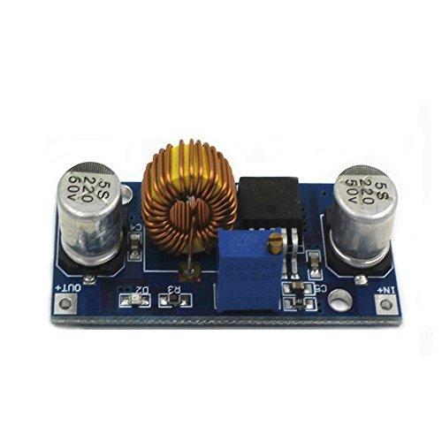 Solu  Xl4015 4~38v to 1.25-36v 5a Dc-dc Adjustable Step-down Power Supply Module// 5a Xl4015 Dc-dc Step Down Adjustable Power Supply Module LED Lithium Charger//5a Dc-dc Adjustable Step-down Module Xl4015 4~38v 96%