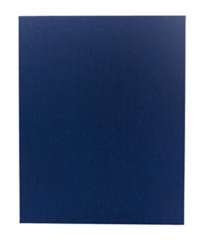 - (5 Pack) Poly-Cotton Retro Menu Covers, 1-Panel (8.5