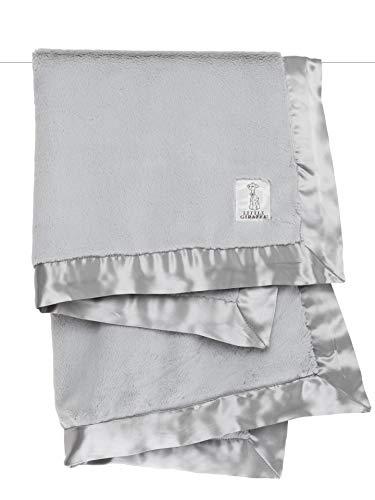 Little Giraffe Luxe Stroller Baby Blanket, Silver, 29