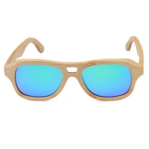 Verres Femmes Bleu Freiesoldaten soleil avec de Bambou en lunettes Hommes Polarisé Sans Boîte Lentilles ébAefbw3UQC5sement bambou Des Ancien en bois Lunettes t5twqRZa6r