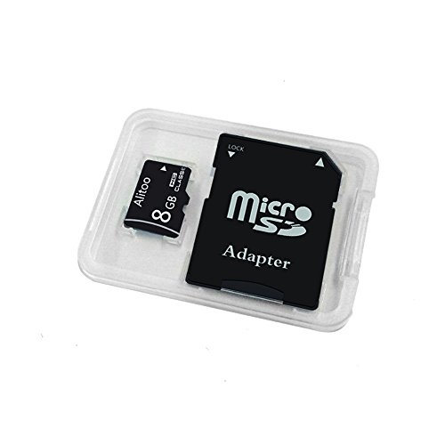 Price comparison product image 8GB Micro SD Card Class 10, High Endurance TF Memory Card Bulk for Cell Phones, Car DVR, Mobile Phones, Dash Cam, GPS Devices by Alitoo