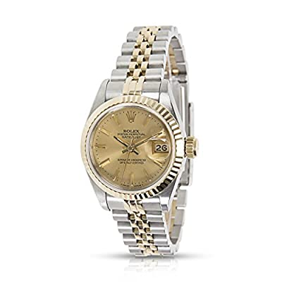 Rolex Datejust 67193 Ladies Watch in 18K Yellow Gold & Stainless Steel (Certified Pre-owned)