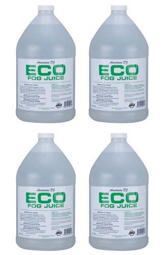 (4) AMERICAN DJ ECO-FOG/G Gallons of Fog/Smoke/Haze Machine Refill Liquid Juice