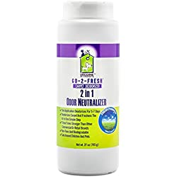 Carpet Deodorizer, Odor Neutralizer & Room Air Freshener by Doggone Pet Products - Neutralizes Funky House Odors Caused By Trashcans, Cigarettes, Pet Cages, Dog and Cat Pee, Vomit, Urine & Malodors