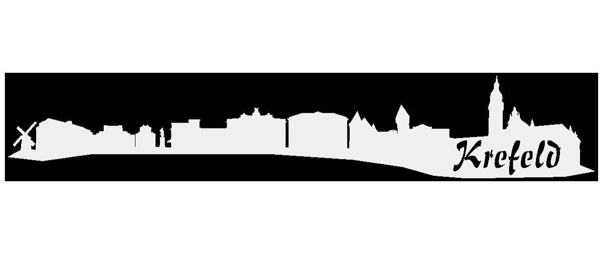 Samunshi® Aufkleber Krefeld Skyline Autoaufkleber Autoaufkleber Autoaufkleber in 9 Größen und 25 Farben (140x25cm kupfermetalleffekt) B007JFPMNY | Lebhaft  dba294
