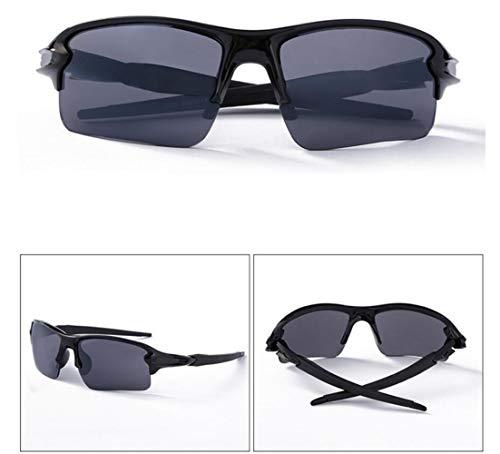 viajar los sol deporte de de de de hombres UV400 del de protección las completar Guay para de la mujeres un ciclo sol para las Gafas Black gafas Huyizhi 7nH6Fwqfq