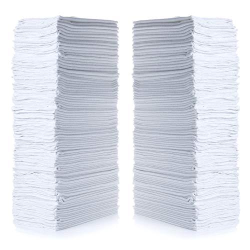 "Simpli-Magic 79006-100PK White 100 Pack Shop Towels 14""x12"", 100 Pack"