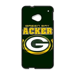 SANLSI NFL Green Bay Packers Logo Cell Phone Case for HTC One M7