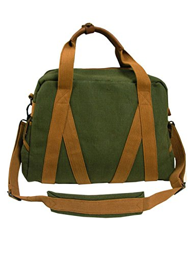 Whillas&Gunn Large Trap Duffle Bag Green