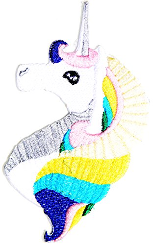 Meat Suit Costume (Unicorn Fantacy Animal Kid Jacket T-shirt Patch Sew Iron on Embroidered Applique Sign Badge Costume Gift by PANICHA)