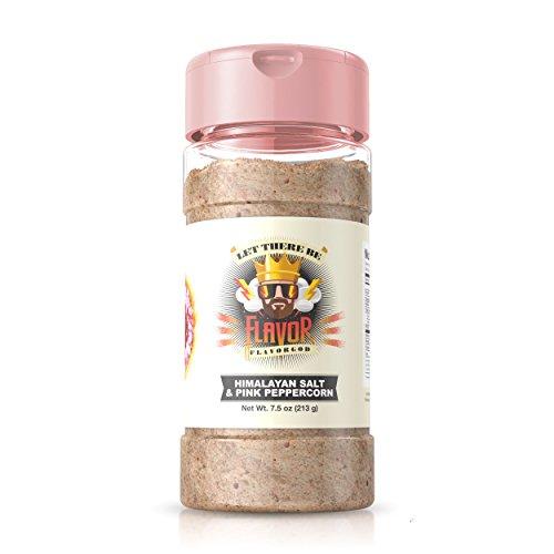 (Flavor God Seasonings (Himalayan Salt & Pink Peppercorn, 1 Bottle) 7.5oz)
