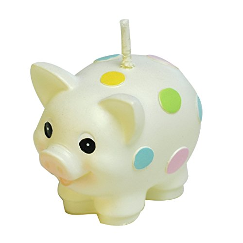 Price comparison product image RedC Creative Pig Cartoon birthday Candle,  Smokeless Cake candle and Party Supplies,  Hand-made Cake Topper Decoration,  Great Gift