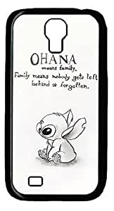 Mystic Zone Classic Cartoon Lilo and Stitch Case for Samsung Galaxy S4 Hard Cover Fit Cases SGS1040