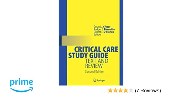 Critical care study guide text and review 9780387773278 critical care study guide text and review 9780387773278 medicine health science books amazon fandeluxe