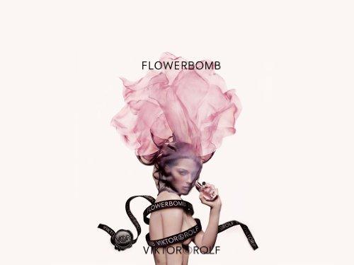 Viktor Rolf Flowerbomb Eau De Parfum 100ml 3.4 Oz