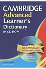 Cambridge Advanced Learner's Dictionary CD ROM CD-ROM