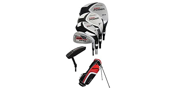 Amazon.com: Powerbilt Golf- Pro Power Set Completo de Golf ...