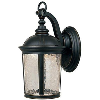 Designers Fountain Outdoor Winston LED21331 Wall Lantern - Aged Bronze Patina