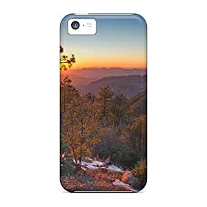 Durable Amazing Lscape At Sunset Back Case/cover For Iphone 5c