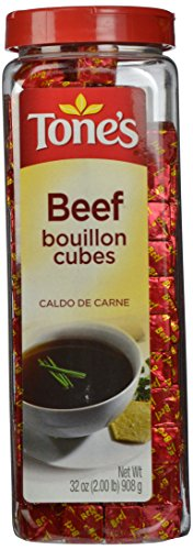 Tone's Bouillon Cubes, Beef, 32 Ounce