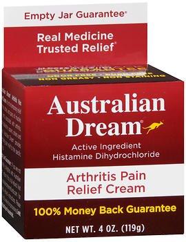 Australian Dream Arthritis Pain Relief Cream - 4oz, Pack of 5