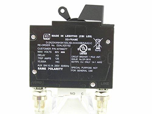 - GE 100 AMP DC BULLET BREAKER 407998277 - CBI D2ALX20192
