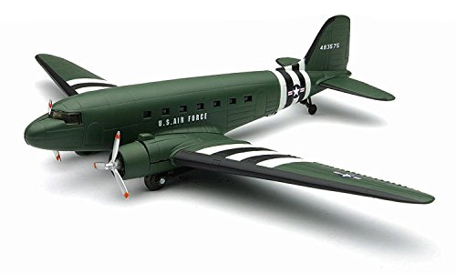 InAir E-Z Build Model Kit - C-47 Skytrain - 1:144 Scale 1 144 Scale Airplanes