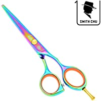 "Smith Chu 5.5"" Professional Barber Hair Shears Cutting Scissors Salon Hairdressing Razor"