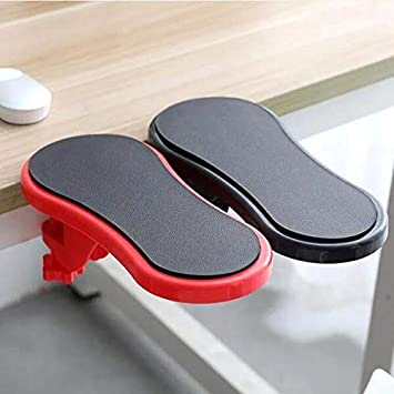 Office Computer Mouse Arm Hand Rest Pad Stand Support Wrist Bracket New L
