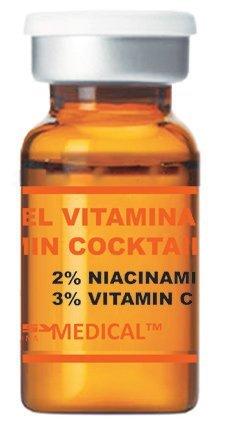 Vitamin Cocktail - Sérum estéril con vitamina C para tratamientos de microneedling (Derma Pen)