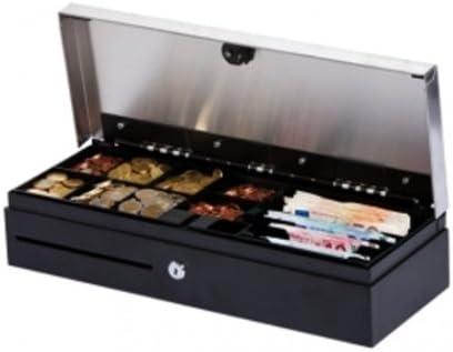 Metapace K-3 Negro caja para dinero en efectivo - cajas para dinero en efectivo (Negro, 460 x 100 x 170 mm): Amazon.es: Oficina y papelería