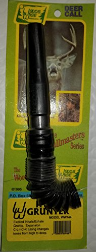 (Woods Wise Deer Grunt Call w/Collapsible Hose Md: WW144 .)