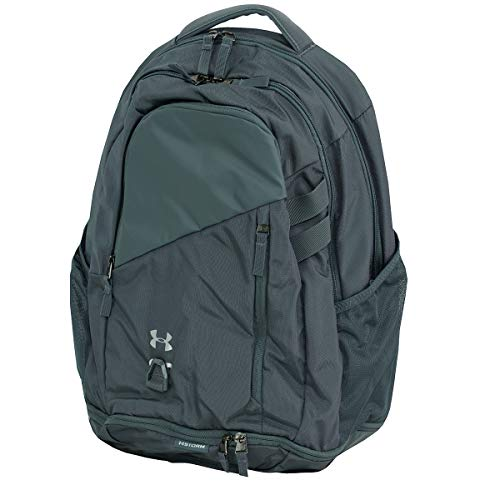 Under Armour Hustle 4.0 Backpack, Pitch Gray (012)/Silver