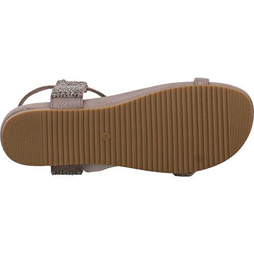 Pena V18452 En Harmaa Sandaalit tinaa Alma Naisten Muoti RqUT7nxv1