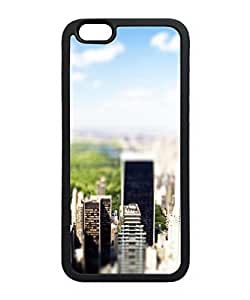 VUTTOO Iphone 6 Case, New York Central Park Tilt Shift Case for Apple iPhone 6 4.7 Inch TPU Black