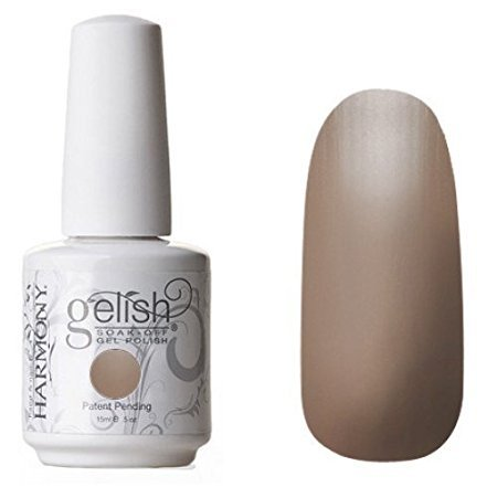 Gelish Soak Off Gel Nail Polish, Taupe Model, 0.5 Ounce