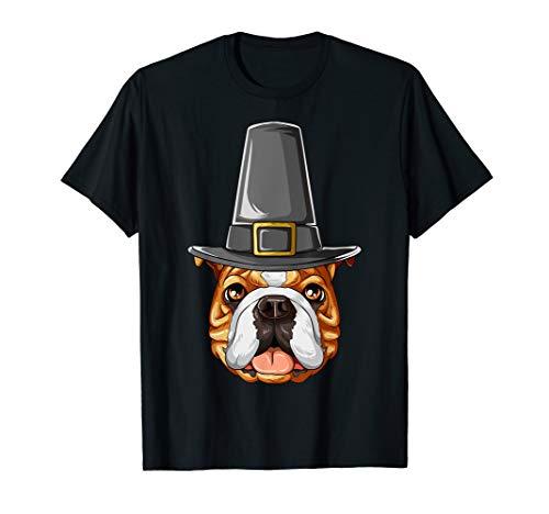 English Bulldog Thanksgiving Pilgrim Costume Hat