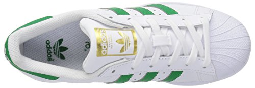 adidas Originals Superstar Foundation J Sneaker White/Fairway/Metallic/Gold recommend for sale 2015 new online outlet many kinds of jtwNrna