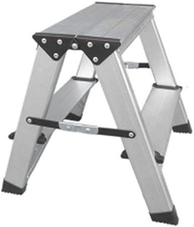 WSQstool Banco Plegable del Taburete de la Escalera de Paso, escabel de Aluminio Engrosado Escalera Plegable Silla del Taburete del pie de la casa de la Silla (Size : #1): Amazon.es: Hogar