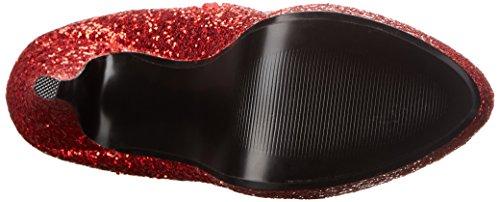 Funtasma LOLITA-300G Red Glitter Size UK 6 EU 39